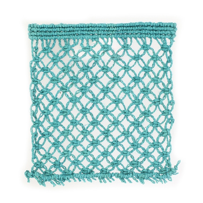 Hand Made Jute Net Fabric